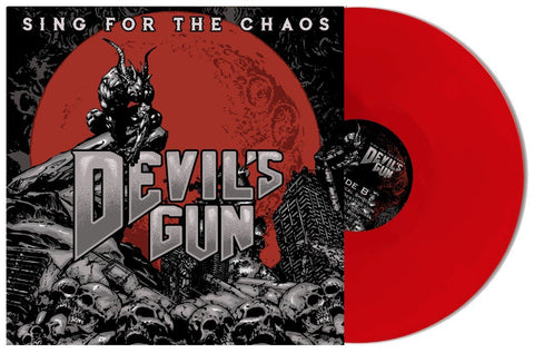 "Devils Gun - ""Sing For The Chaos"" - LP - Ltd Ed Red Vinyl"