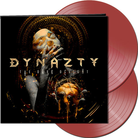 Dynazty - The Dark Delight - 2 LP - Ltd Ed Clear Red Swedish version with bonus track.