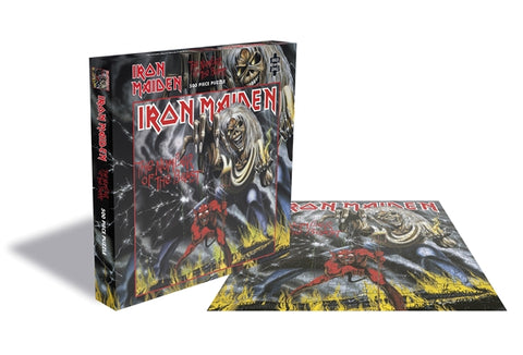 Iron Maiden - Number Of The Beast - (500 PIECE OFFICIAL JIGSAW PUZZLE)