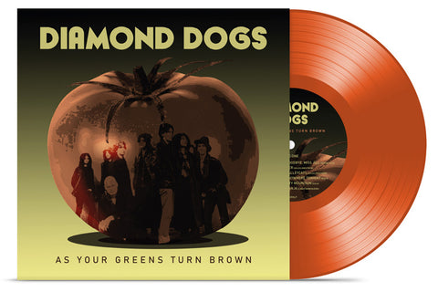 Diamond Dogs - As Your Greens Turn Brown - LP - Transparent Red Vinyl