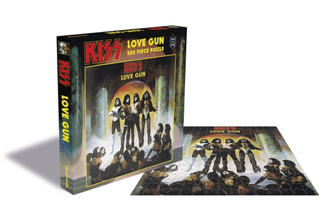 Kiss - Love Gun - (500 PIECE OFFICIAL JIGSAW PUZZLE)