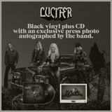 LUCIFER - LUCIFER III - Black vinyl, with CD + old school autograph card!