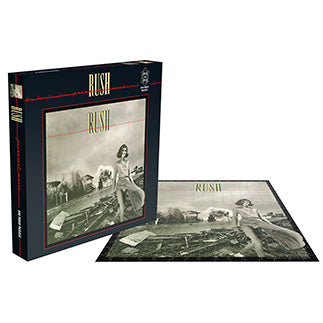 RUSH - Permanent Waves (500 PIECE JIGSAW PUZZLE)