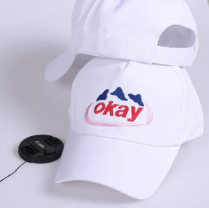 """okay"" cap - sleepy eden"