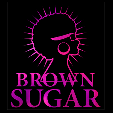"Brown Sugar Hot Pink Soft Metallic Vinyl (10x8.75"") Bling Shirt - Bling By Bates"