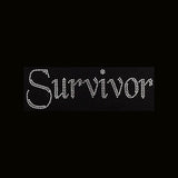 "Cancer Survivor  (3x9.25"") Rhinestone Bling Shirt - Bling By Bates"