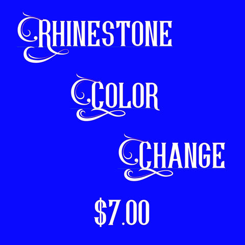 Rhinestone Color Change - Bling By Bates