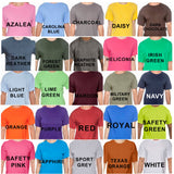 Stressed in Desserts Spelled Backwards - Glitter, Plain or Metallic Vinyl Shirt - Bling By Bates