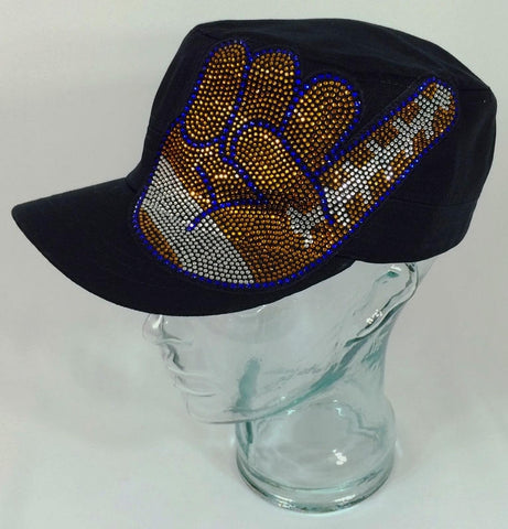 Football Hand Patch Hat - Bling By Bates