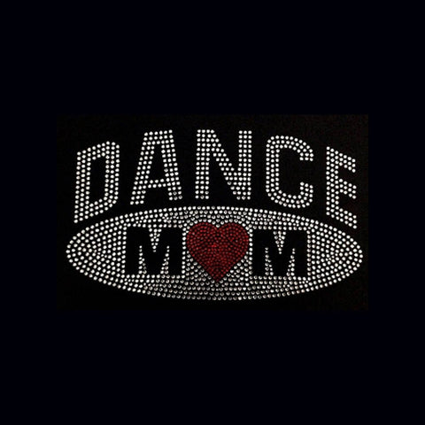 Dance Mom Oval (5.25x8.75) Rhinestone Shirt - Bling By Bates