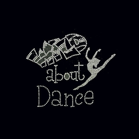 Wild About Dance (8.5x10.5) Rhinestone Bling Shirt - Bling By Bates