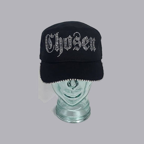 Chosen With Swarovski Brim Edge - Bling By Bates
