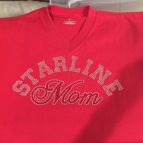 Starline Mom Rhinestone Bling Shirt - Customize - Bling By Bates