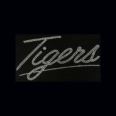 Tigers (5x9) Rhinestone Bling Shirt - Bling By Bates