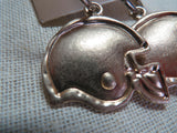 Football Helmet Earrings -Bronze/Gold Tone Bling - Bling By Bates