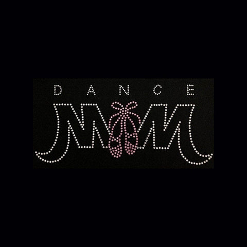 Dance Mom  (4x8) Rhinestone Bling Shirt - Bling By Bates