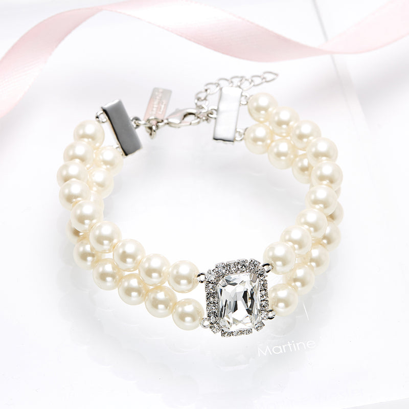 Love Star River Pearl Bracelet
