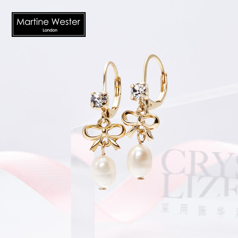 Freshwater Pearl Dangle Earrings