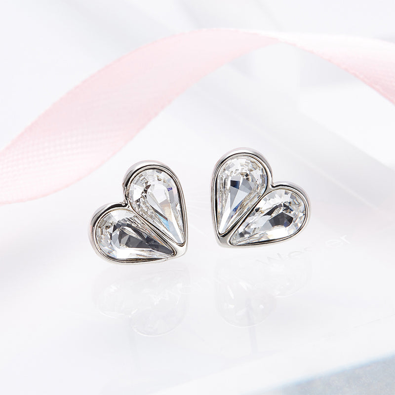 Martine Classic Heart Earrings