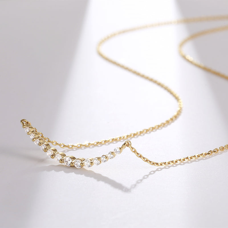 Galaxy Gold Plated Chain Necklace