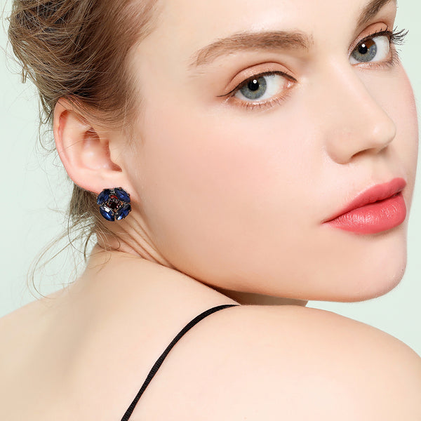 Russian Castle Stud Earrings