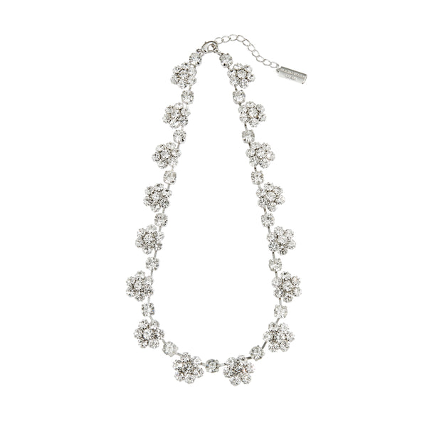 Starry Czech Crystal Necklace