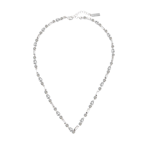 Plato White Gold Necklace