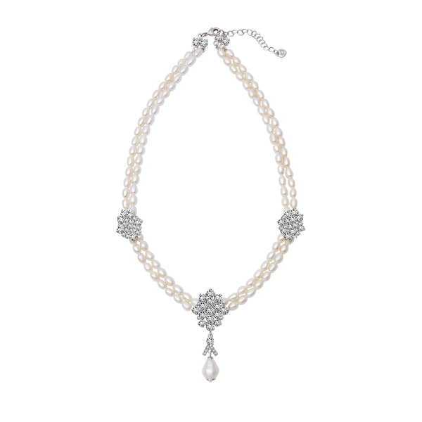 Princess Audrey Crystal Necklace