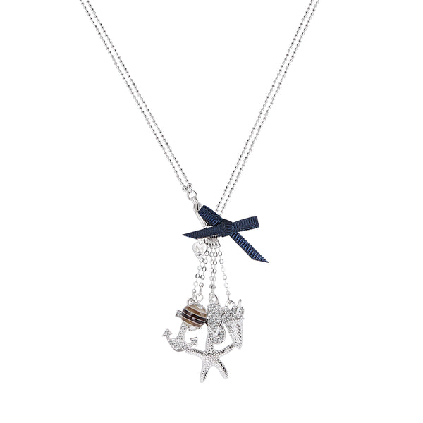 Starfish Beach Summer Necklace