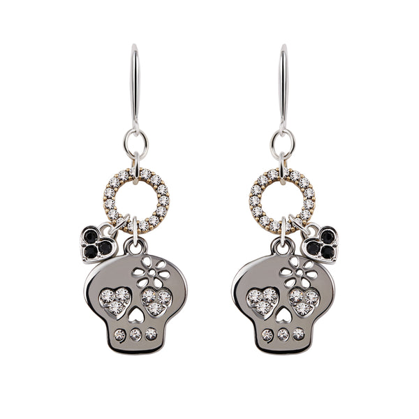 Punky Heart  Dangle Earrings
