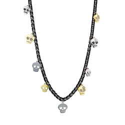 Punky Heart Long Necklace