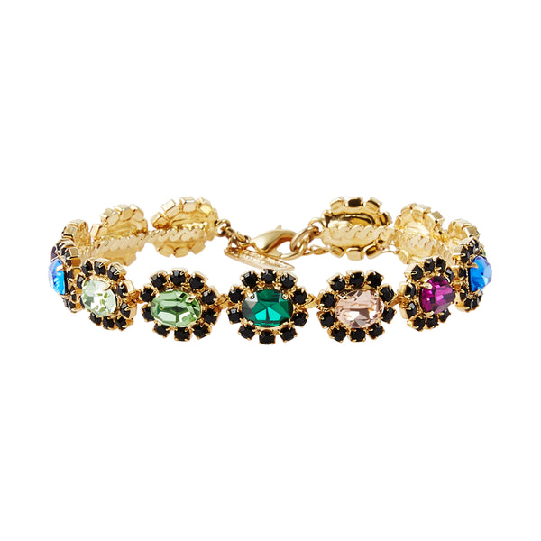 Royal Square Czech Crystal Bracelet
