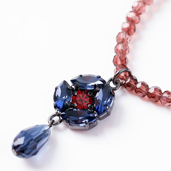 Russian Castle Crystals Necklace
