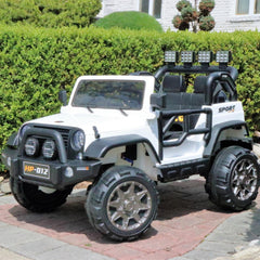 First Drive Exclusive Jeep 3 - 2 Seater - Digital Manual, Assembly, Troubleshooting Videos and Demo