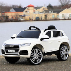 Audi Q5 Single Seat Ride On Toy Car 12V - Digital Manual, Assembly, Troubleshooting Videos and Demo