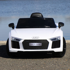 Audi R8 Spyder Single Seat Ride On Toy Car 12V - Digital Manual, Assembly, Troubleshooting Videos and Demo