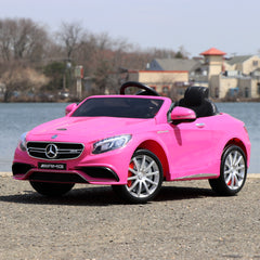 Mercedes S63 AMG Ride On Toy Car 12V - Digital Manual, Assembly, Troubleshooting Videos and Demo