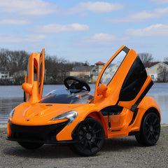 McLaren P1 12V - Scissor Doors, Air Conditioning, Digital Manual, Assembly, Troubleshooting Videos and Demo