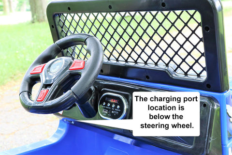Charger Location for Jeep