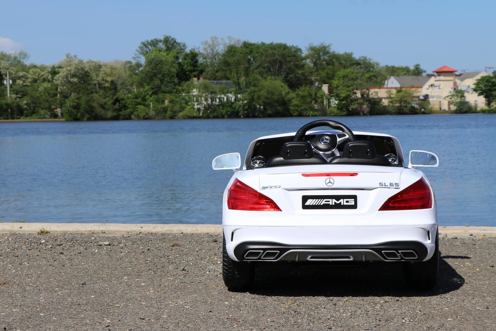 Load image into Gallery viewer, Mercedes Benz SL - White