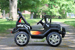 Jeep 2 - Black (One Seater)