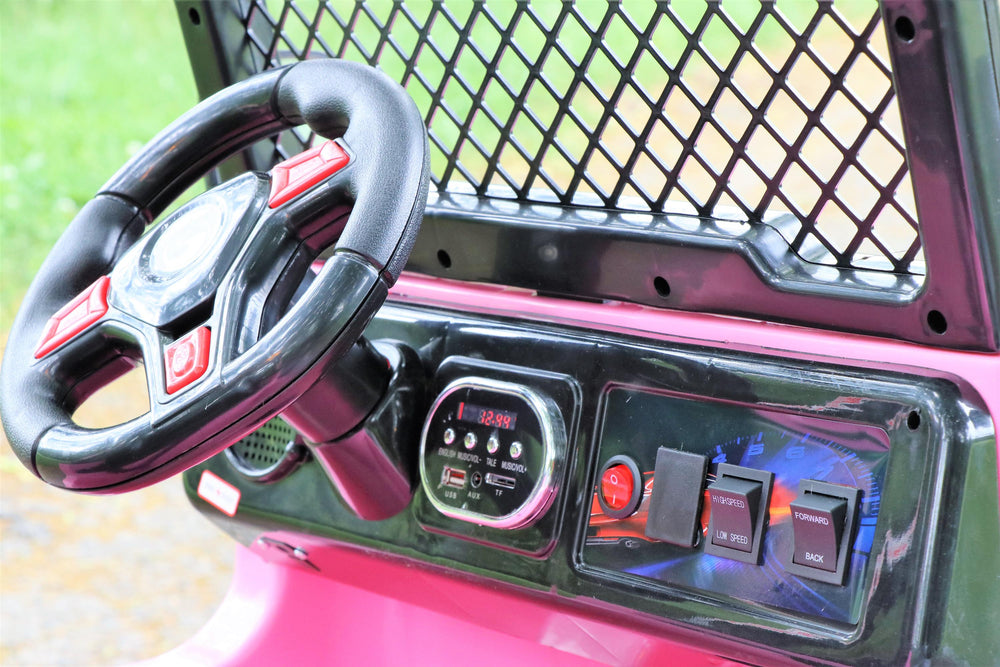 Jeep 2 - Pink (One Seater)