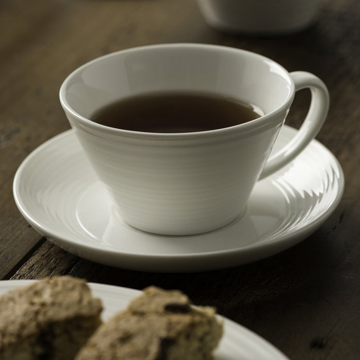 Ripple Teacup and Saucer Set