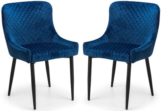 Malmo Dining Chair – Blue