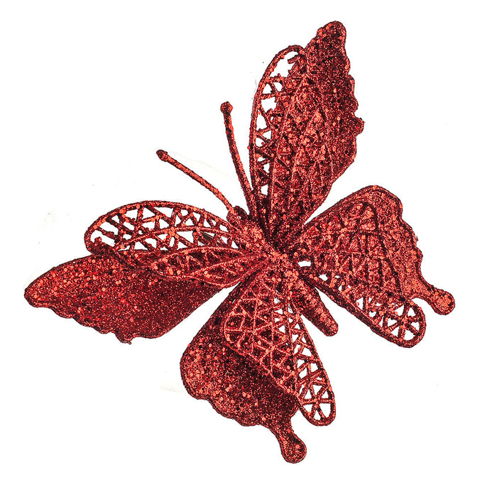 Butterfly Clip Red