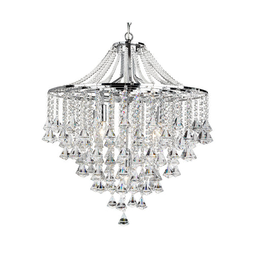 Dorchester 5 Light Crystal Fitting