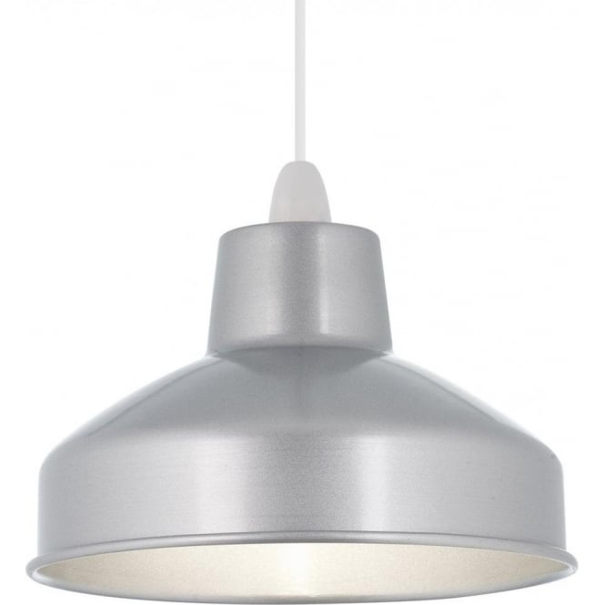 Aston Non-Electric Pendant Silver