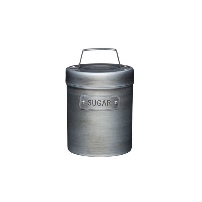 Industrial Kitchen Vintage - Style Metal Canister
