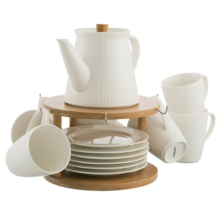 Pekoe 13 Piece Set and Stand