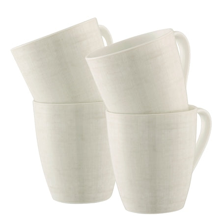 Cotton Set of 4 Mugs